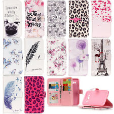 PU Leather Phone Case for Samsung LG iPhone Stand Wallet Pouch Cover Protector