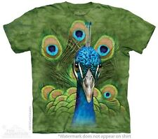 Vibrant Peacock Kids T-Shirt from The Mountain. Cute Colorful Bird Childrens NEW