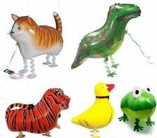 Cute Walking Animal Balloon Helium Pet Party Toy Kids Airwalker Foil Zoo Farm