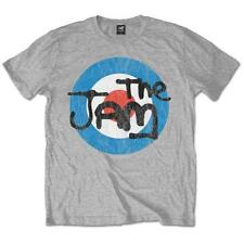 OFFICIAL LICENSED - THE JAM - VINTAGE LOGO T SHIRT MOD WELLER SCOOTER