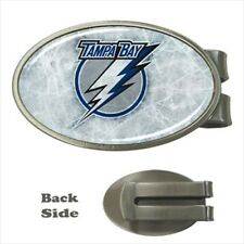 Tampa Bay Lightning Chrome Money Clip - NHL Hockey