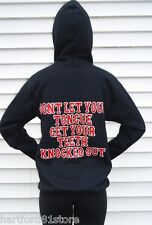 HELLS ANGELS SUPPORT HOODY TONGUE