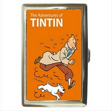 NEW Cigarette Business Card Holder Tintin