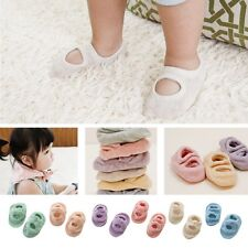 Toddler Newborn Baby Cotton Socks Shoes Anti-Slip Girl Boy Crib Slipper Socks