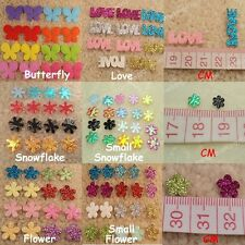 100-5000 Flower Snowflake Butterfly Applique Christmas Wedding Confetti Craft