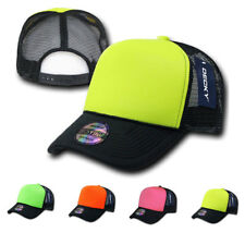 15 LOT DECKY BLANK NEON FOAM MESH TRUCKER HATS HAT CAPS CAP SNAPBACK WHOLESALE