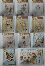 CRAFTERS COMPANION POPCORN THE BEAR COLLECTION STAMPS FOR CARDS & CRAFTS