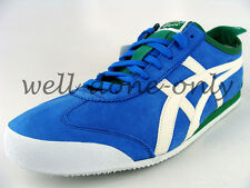 Asics Onitsuka Tiger Mexico 66 LTD KOBE mid blue green white mens leather shoes