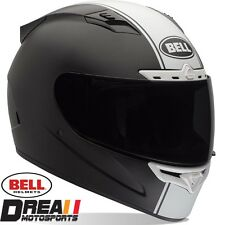 BELL VORTEX RALLY MATTE FLAT BLACK FULL FACE MOTORCYCLE HELMET DOT SNELL XS-XXL