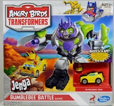 TRANSFORMERS ANGRY BIRDS JENGA BUMBLEBEE BATTLE GAME HASBRO