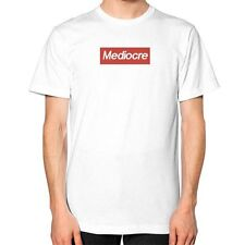 SUPREMELY MEDIOCRE Shirt, Unisex American Apparel Tee, Supreme Box Logo Parody