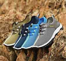 2016 New Mens Outdoor Hiking Sport Casual Breathable Mesh Running Athletic Shoes