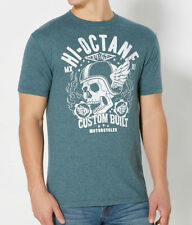 Hi Octane Custom Built Motorcycles Winged Skull T Shirt_ Brand new with tags