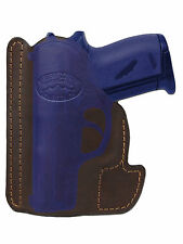 New Barsony Brown Leather Gun Pocket Holster Ruger Kel-Tec Kahr Mini 22 25 380