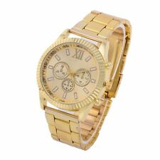Mens Luxury Quartz Wrist Watch Dress Watch Analog Display Roman Numerals