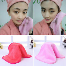 New Reusable Microfiber Facial Cloth Towel Pads Makeup Remover Cleansing Beauty