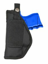 New Barsony OWB Gun Belt Loop Holster Smith & Wesson M&P Compact 9mm 40 45
