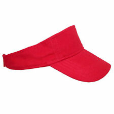 New ValuCap Garment Washed Cotton Sun Visor Cap