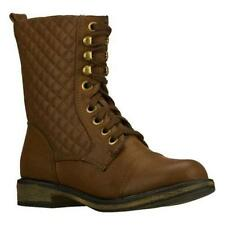 Skechers 48255 Awol Womens Lace Up Combat Boots Black or Brown different sizes