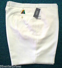 Fletcher Jones Tailored Lawn Bowls Australia Approved SHORTS  CREAM ONLY Sizes