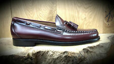 G. H. Bass & Co // Weejuns // Larkin Moc Tassel Wine Loafers Mens Shoes NEW!!