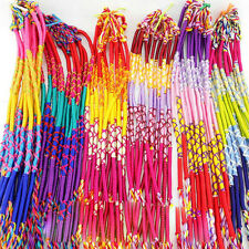 20/100Pcs Wholesale Braid Strands Jewelry Friendship Cords Handmade Bracelets