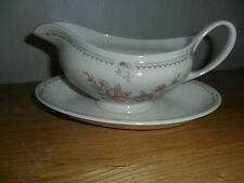 MARKS AND SPENCER CLAREMONT GRAVY BOAT AND STAND