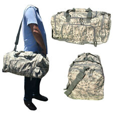 LARGE Military Army ACU Digital Camo Camouflage Duffel Duffle Bag Bags 21""