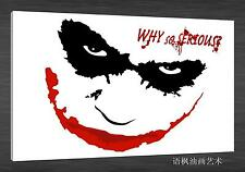 Oil Painting HD Print Wall Decor Art on Canvas,the joker 24 (Unframed) 1PCS