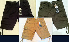 New Mens Brave Soul MSRT CONVAYPKA Conway Casual Cargo Combat Chino Shorts M,L..