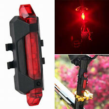 Hot Sale USB Rechargeable LED Waterproof  Mountain Bike Taillight Warning Lights