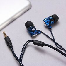Multi-Color In-Ear 3.5mm Earphone Headphone Earbud For MP3 MP4 Cellphone