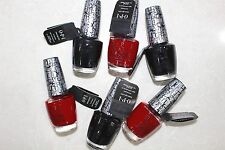 OPI Shatter Nail Polish Black & Red