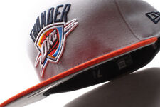 Oklahoma City Thunders New Era 59Fifty Playoff Orange Fitted