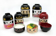 Japanese Kawaii Doll Bento Boxes (Samurai, Geisha and so on)