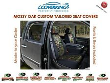 Coverking Neosupreme Mossy Oak Front & Rear Camo Seat Covers for Hummer H3