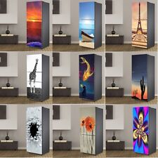 Fridge Door Sticker Self-adhesive PVC Refrigerator Deco Cover Wall Mural Kitchen