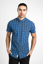 Threadbare Mens Threadbare Men's Russell Short Sleeved Check Shirt