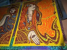 RARE Widespread Panic 2016 Athens Sparkle Foil Variant Poster Print Jeff Wood