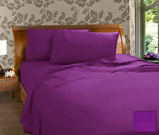 Percale 225 T/C Sheet Set (17 Colours Available)