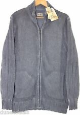 NWT Tommy Bahama Speedster Full Zip Mock Neck 100% Cotton Sweater $168