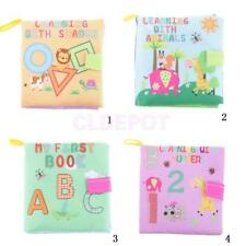 Kid Baby Intelligence Development Cloth Book Cognize Book Activity Center Books