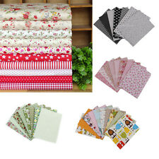 Fabric Squares 100% Cotton Patchwork Quilting Floral Sewing Crafts Remnants DIY