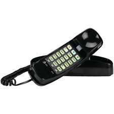 ATT ATTML210B Corded Trimline(R) Phone with Lighted Keypad (Black)