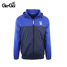 *GIO GOI MENS BLUE CYLINDER WINDRUNNER JACKET RAIN COAT RRP £40 SAVE 65% OFF