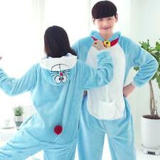 Doraemon Hot Unisex Adult Kigurumi Pajama Anime Cosplay Costume Onesie Sleepwear