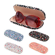 Floral Sunglasses Eye Glasses Hard Case Eyewear Protector Box Holder Pouch Cover