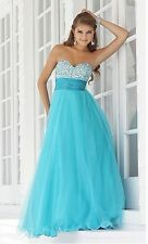 013 beading prom ball  sequined  gown evening party dress uk seller  8 to18