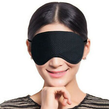 Black Eyewear Rest Sleep Eye Mask Blindfold Shade Travel Relax Sleeping