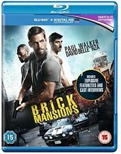Brick Mansions (Paul Walker) - Blu Ray - Disc Only